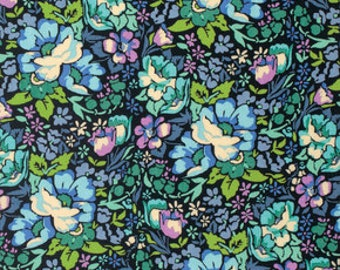 SALE- LAST Yard from Anna Maria Horner's Honer Roll Collection for FreeSpirit- Overachiever in Charcoal