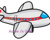 """CROCHET GRAPH PATTERN, airplane for afghan, 50""""x34"""""""