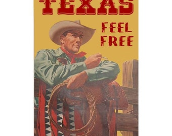 TEXAS 5- Personalized Leather Journal Cover Moleskine Field Notes Custom