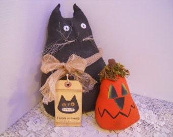 CAT, black, and Jack, Halloween FIFOFG