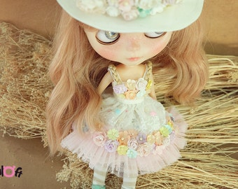 Blythe Sugar Rush flowers Dress