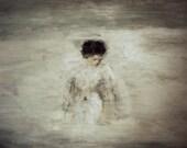 "Giclee large poster print wall art. Minimalist art modern figure art . ""Cupid"""