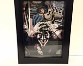 The Joker Comic Collage, Suicide Squad Shadowbox, The Killing Joke, 5x7 inches