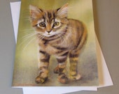 Willow the Cat art card b...