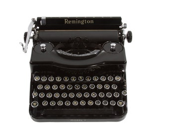 Remington Typewriter Model 1 - Excellent Working Order - FREE Domestic Shipping