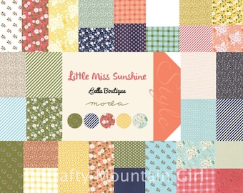 Little Miss Sunshine Charm Pack by Lella Boutique for Moda