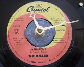 THE KNACK 45 record CLOCK my sharona