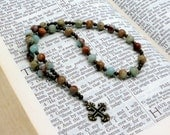 PIF Impression Stone Protestant Prayer Beads / Anglican Rosary