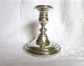 Sterling Silver Candlestick Gorham Vintage Candle Holder Estate Find