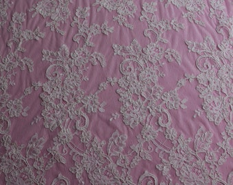 Ivory Corded Lace - EFFIE