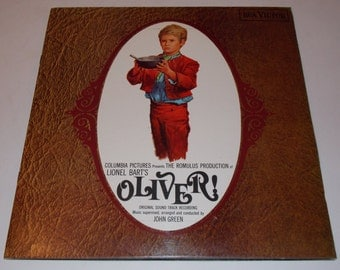 1968 - Oliver - Original Motion Picture Soundtrack - Oliver Twist - Complete w/ attached booklet, Gatefold LP Vinyl Record Album - Musical