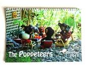 Poppeteer Calendar 2017, cute wall calendar with crochet animals
