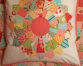 Dresden Plate Cushion Cover (Bonnie and Camille fabric)