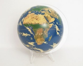 Gorgeous Planet Earth Globe by Krent/Paffett/Teifert for Replogle