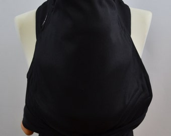 MEI TAI Baby Carrier / Sling / Reversible/ Black in straight cut model