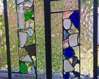 Large Sea Glass Window