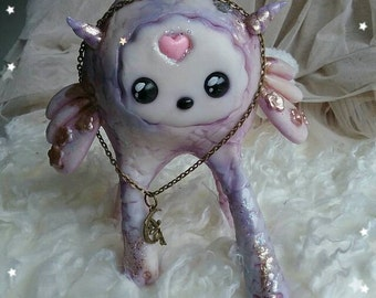 BARGAIN !! Sweet Dreams - Fantasy creature Tamy   - Ooak art sculpture