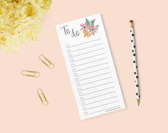 Phloxy Floral To Do List