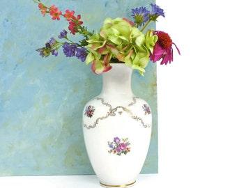 Vintage Reichenbach Vase - Collectible Vase, Porcelain Vase, German Vase, Shabby Chic Decor, c1950s