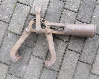 Vintage Cast Iron Industrial Tool
