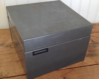 Vintage Steelmaster File Box