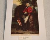 "1937 Art Print ""Colonel Coussmaker"" by Joshua Reynolds"