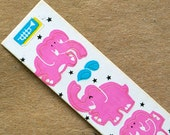 Cardesign Toots Vintage Pink Elephant Stickers