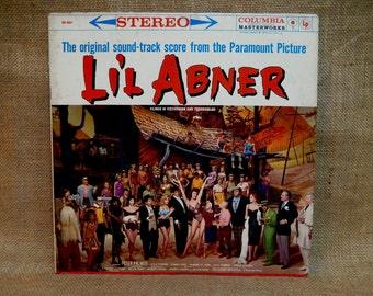 LI'L ABNER - Original Motion Picture Soundtrack - Vintage Vinyl Record Album