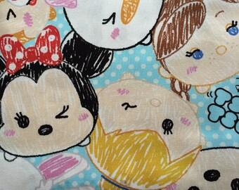 SALE Disney all star tsum tsum print 100cm x 65cm