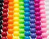 10 GUMBALL Beads 20mm Bubblegum Chunky Beads Resin Round