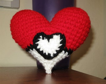 Valentine's Pokeball - Inspired Heart Plush
