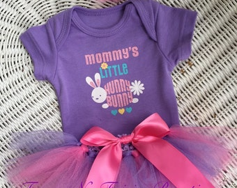 Easter Mommy's Little Hunny Bunny Tutu Set