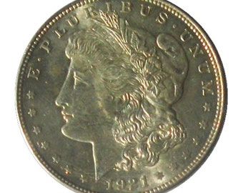 1921  U.S. Morgan Silver Dollar