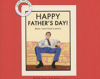 AL BUNDY Father's Day CARD - Funny Father's Day Card - Married With Children - Al Bundy - Married With Children Father's Day - Item F018