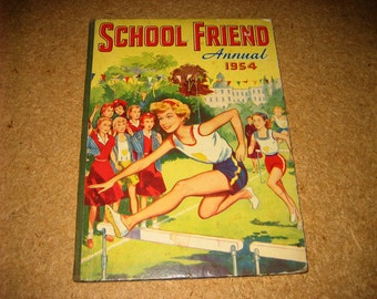 SCHOOL FRIEND ANNUAL 1954