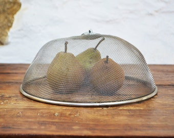 French Food cake cover metal Mesh Dome