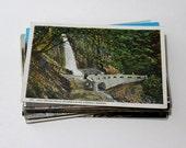 SALE - 30 Vintage Oregon Postcards - DAMAGED - Collage, Mixed Media, Scrapbooking, Assemblage, Paper Craft, Travel Journal Supplies