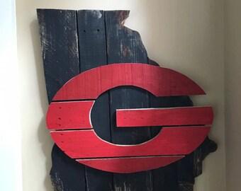 Georgia Pallet Sign