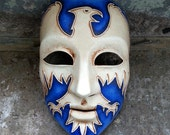 Item RESERVED for sixthtoe One of a kind Eagle design Mask
