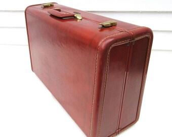Vintage Suitcase | Samsonite Luggage | Samsonite Suitcase | Old Suit Case | Weekend Bag | Storage Case - As Is