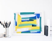 Abstract Artwork, Bright Home Decor, Colorful Decor, Teen Decor, Wall Decoration, Home Accessories, Abstract Wall Art