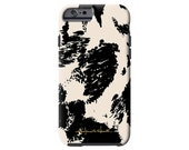 Bessie faux cow print iPhone 6/6s, iPhone 6/6s PLUS,  iPhone 5/5s case, Samsung Galaxy S6