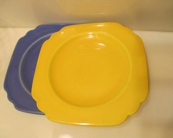Vintage Yellow Homer Laughlin Riviera Bread/Butter Plate