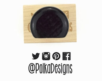 Rubber Stamp Custom Social Media Icons (Up to 4) - Instagram Twitter Pinterest Facebook - Custom Username Stamp