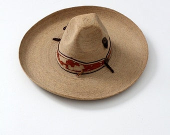 SALE vintage sombrero, authentic Mexican hat