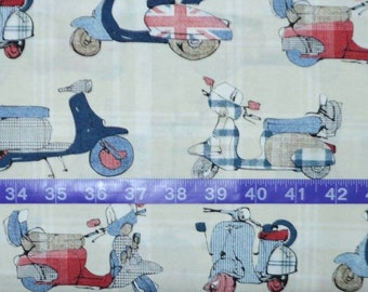 Michael Miller. The British are Coming...The British are Coming - BTY Cotton Fabric - Choose your cut