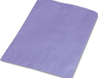 10 Purple 6x9 Paper  Bags , Gift Bags,  Merchandise Bags, Favor Bags, Weddings, Showers, Birthdays, Treats