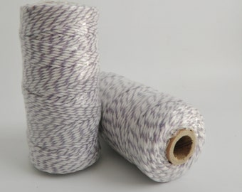 LAVENDER- Thick Bakers Twine (12 ply)- 100 yd spool- Packaging, Gift Wrap, Baking Parties