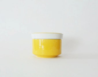 Vintage Mikasa Light 'n Lively Retro Sugar Bowl