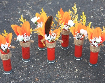 Shotgun Shell Boutonniere Hunting Wedding